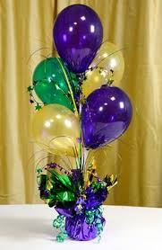 How To Make Ribbon Topiary Centerpieces by Gradated Lengths Of Ribbon Display Balloons In Colors For