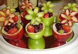 fruit decorations fruit salad decorations craft projects ideas