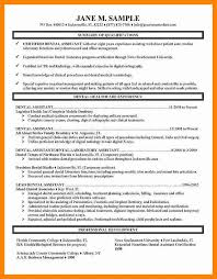 Resume Template Dental Assistant Dental Hygienist Resume Dental Hygiene Resume Sample