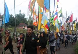 Festival Of Flags First Ever Mount Lawu Flag Festival Held Art U0026 Culture The