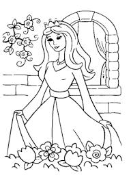 castle princess coloring coloring