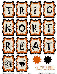 halloween printable decorations scary halloween decorating ideas