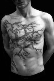 top 90 best chest tattoos for manly designs and ideas