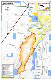 Libby Montana Map by Eustis Fire Expands To 6 300 Acres Air Alerts Issued News