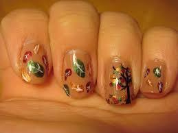 cute thanksgiving nails fabulous fall nail art 1