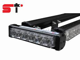 low profile led light bar police car fire fighting ems low profile led lightbar