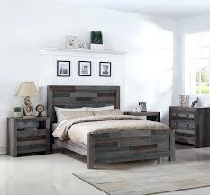 Cal King Platform Bed Frame Angora Reclaimed Wood King Size Platform Bed Zin Home