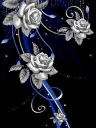 silver roses silver roses gif phone wallpaper by twifranny
