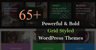themes you 65 premium and bold grid style wordpress themes