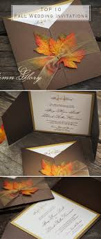 autumn wedding invitations top 10 fall wedding invitations for autumn weddings