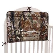 Pink Camo Crib Bedding Set by Realtree All Purpose Camo Crib Bedding Kimlor Mills Inc