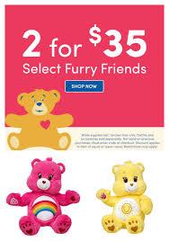 care bears build bear deal 35 2 dandy