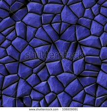 abstract seamless blue rocks background stock illustration