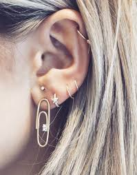 ear earing new ear piercing to follow in 2017 if you re obsessed