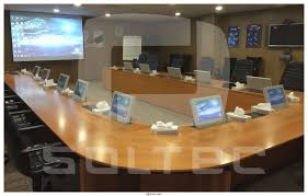 Touch Screen Conference Table Conference Table Touch Screen Wall Mounted Motorized