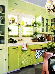 Yellow And Green Kitchen Ideas Kitchen Design Ideas About Green Ceiling Paint On Bright Colors