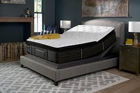 sealy grand mesa plush euro pillow top queen mattress ashley