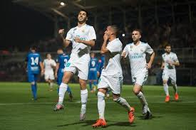 Real Madrid Real Madrid Beat Fuenlabrada 2 0 In Leg 1 Of Copa