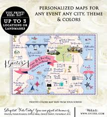 Palm Beach Map Glitz U0026 Glam Invitations Party Printables For Any Event Gvites