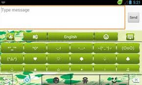 go keyboard apk file go keyboard green flowers app for android review apk