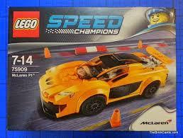 speed chions mclaren the brick castle speed chions mclaren p1 set 75909 review