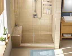 Shower Designs With Bench Base U0027n Bench U2013 Wonderfall Trench Shower Pan U0026 Bench Kits