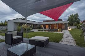 Modern Home Design Charlotte Nc Modern Residence Hungary Oriented Towards Garden Pond Home