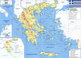 Map Of Greece by Greece