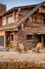 Lodge Style Home Decor by Best 10 Stone Cabin Ideas On Pinterest Stone Cottage Homes