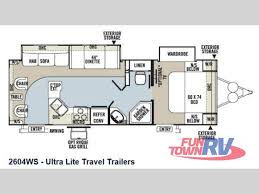 new 2014 forest river rv rockwood ultra lite 2604ws travel trailer