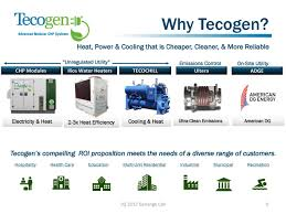 Chp 362 by Tecogen Inc 2017 Q2 Results Earnings Call Slides Tecogen