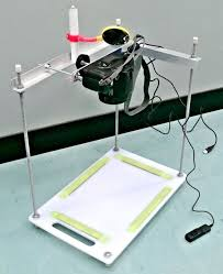 camera copy stand with lights copy stand cheap and easy to build