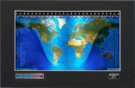 World Time Clock Map by Standard World Clock With Mapset Options More Than A Moving Map