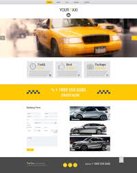 free html5 theme for taxi company