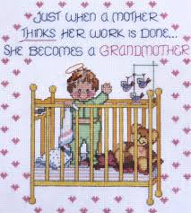 vintage janylnn counted cross stitch kit grandmother s work