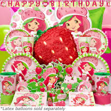 strawberry shortcake party supplies strawberry shortcake birthday party supplies thepartyanimal
