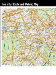 La Traffic Map Rome Travel Guide Rome Italy Map Rome Tourist Attractions