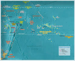 Map Of Oceania Political Map Of Polynesia 1200 Px Nations Online Project
