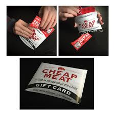 cheap gift card cheap meats prank gift card holder 4 99 funslurp unique