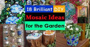 garden mosaic ideas home design