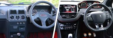 peugeot little car peugeot 205 gti 1 9 vs 208 gti u2013 old vs new carwow