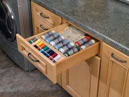 Spice Rack In A Drawer Rev A Shelf Cut To Size Insert Wood Spice Organizer For Drawers