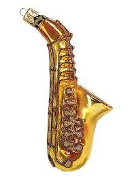 saxophone musical instrument blown glass