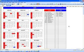 excel template calendar cris lyfeline co