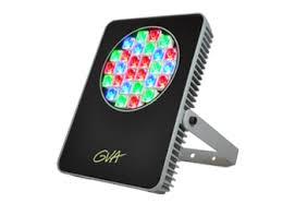 Color Changing Flood Lights Gva Fl Rgb Color Changing Flood Light Metalmek Illuminazione