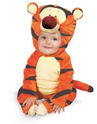 winnie the pooh baby comfy fur tigger the tiger plush costume