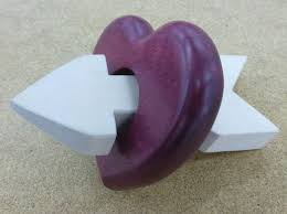 Small Woodworking Project Plans Free by Impossible Wood Arrow Through Wood Heart Trick By Austin
