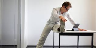 Desk Exercises At Work Try These 5 Thigh Toning Exercises At Your Desk Fitness Exercises