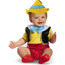 12 Month Halloween Costumes Boy Amazon Disney Baby Boys U0027 Pinocchio Infant Costume Multi 6