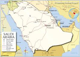 Political Map Of The Middle East by Political Map Of Saudi Arabia Nations Online Project